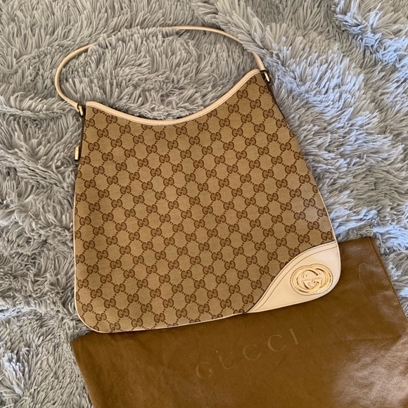 "f5504e33e Gucci Handbags - 🎉Sale!🎉 GUCCI ""new britt hobo"""